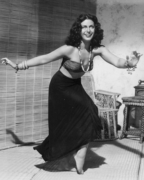 Hedy Lamarr dancing