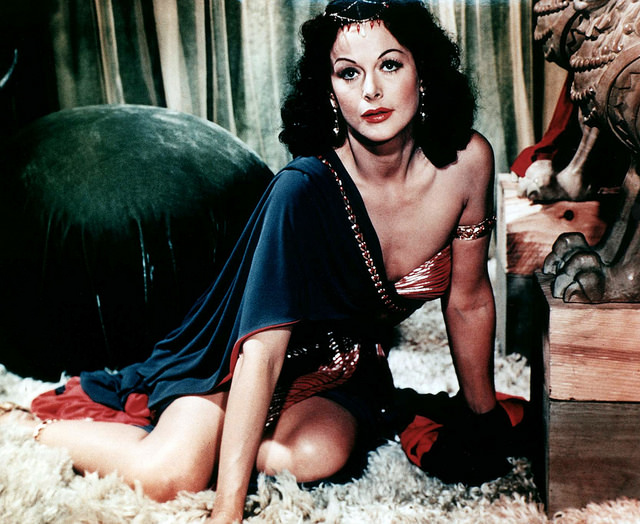 Hedy Lamarr in Samson and Delilah
