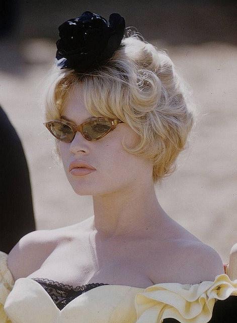Brigitte Bardot glasses