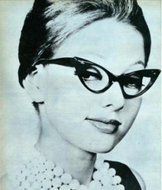 vintage glasses 1960s
