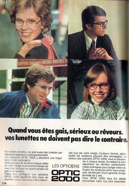 glasses in the 70s