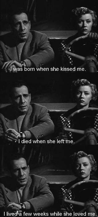 It's a lonely place quote