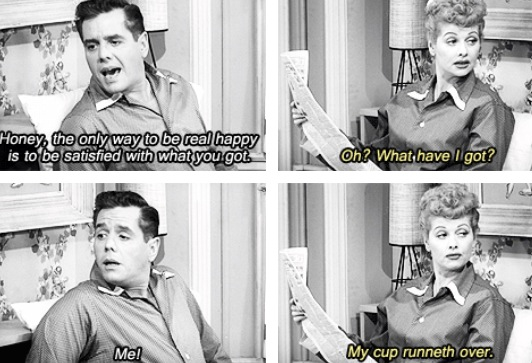 funny dialogue I love Lucy show