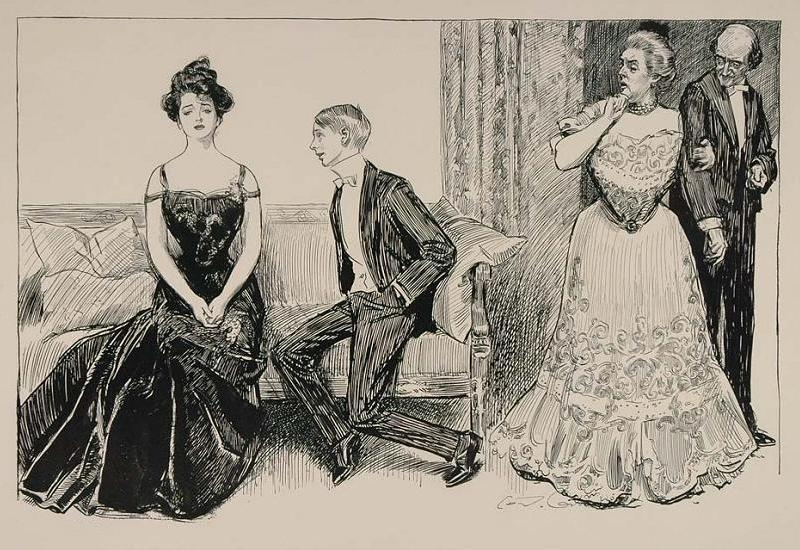 Gibson Girl ball crush