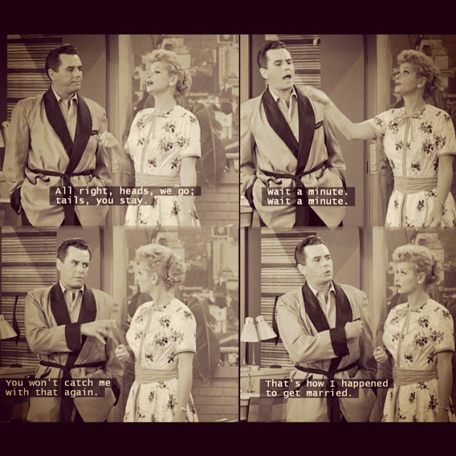 funny dialogue I love Lucy