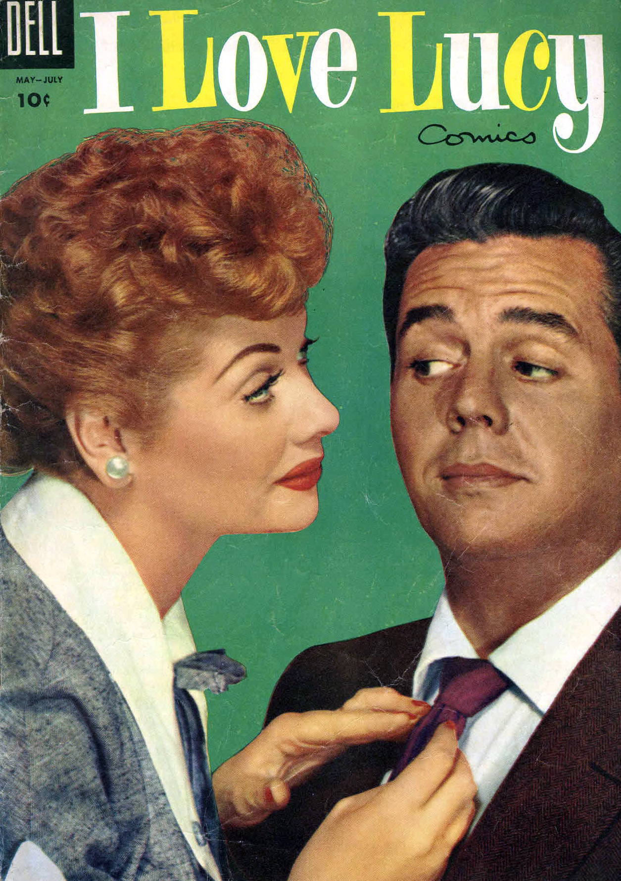 I Love Lucy magazine cover - Lucille Ball and Desi Arnaz