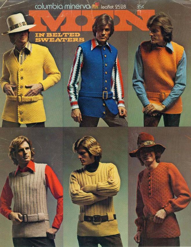 Men's 1970s fashion ads