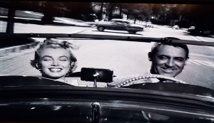 Classic Hollywood movie Monkey Business Gary Grant Marilyn Monroe and Ginger Rogers