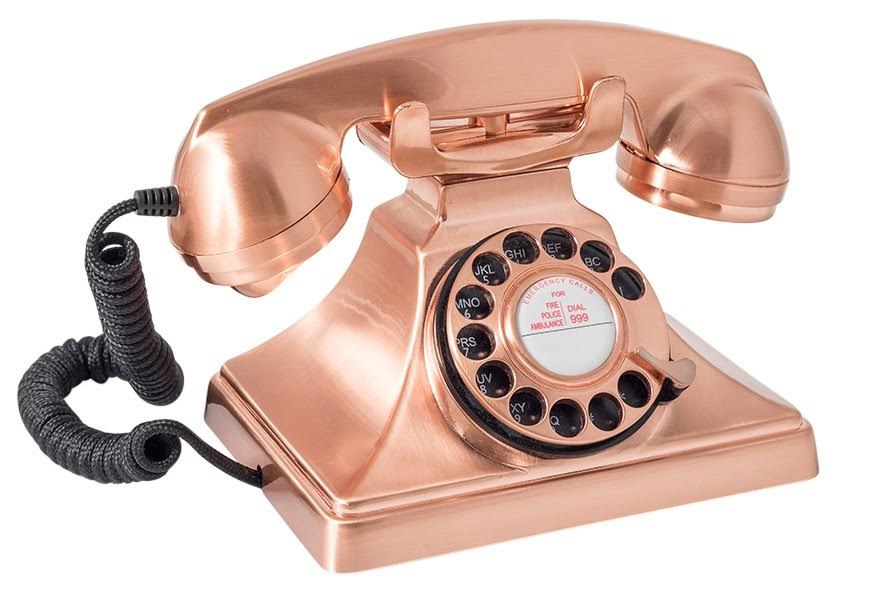Home is where the retro electronics are - retro electronics lifestyle telephone surf4trends