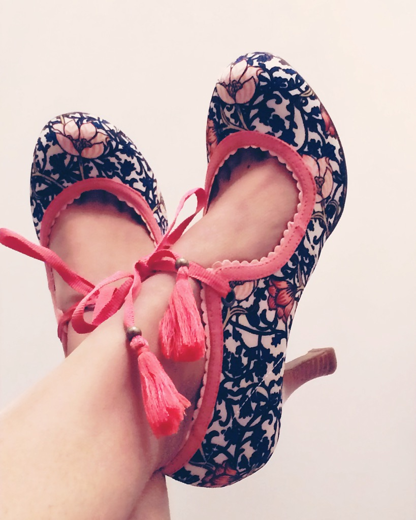 Ruby Shoo pumps floral