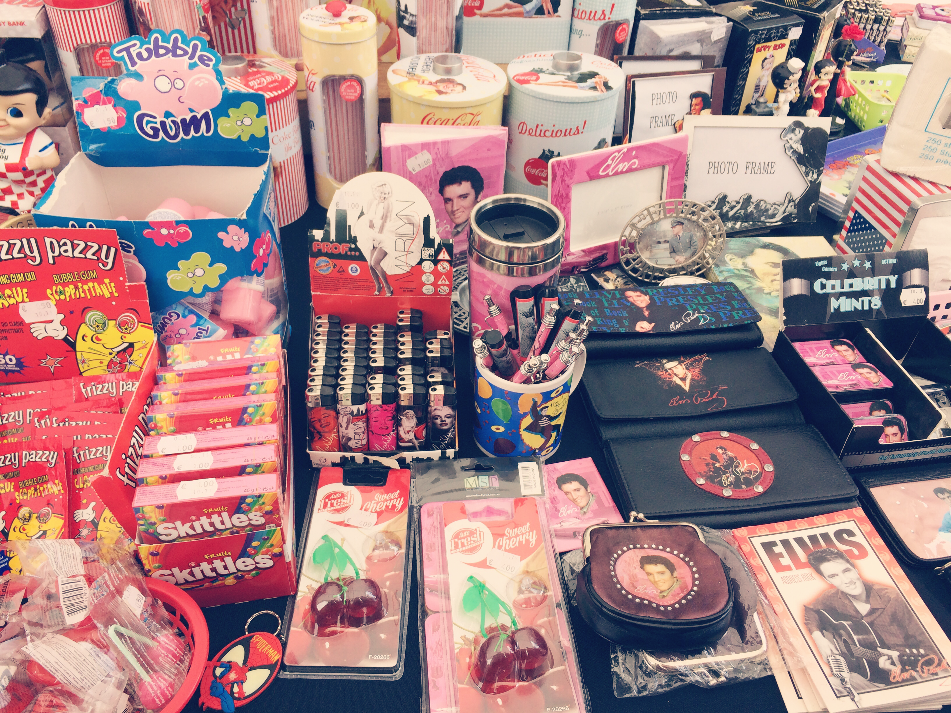 Back to the fifties festival retro accessories