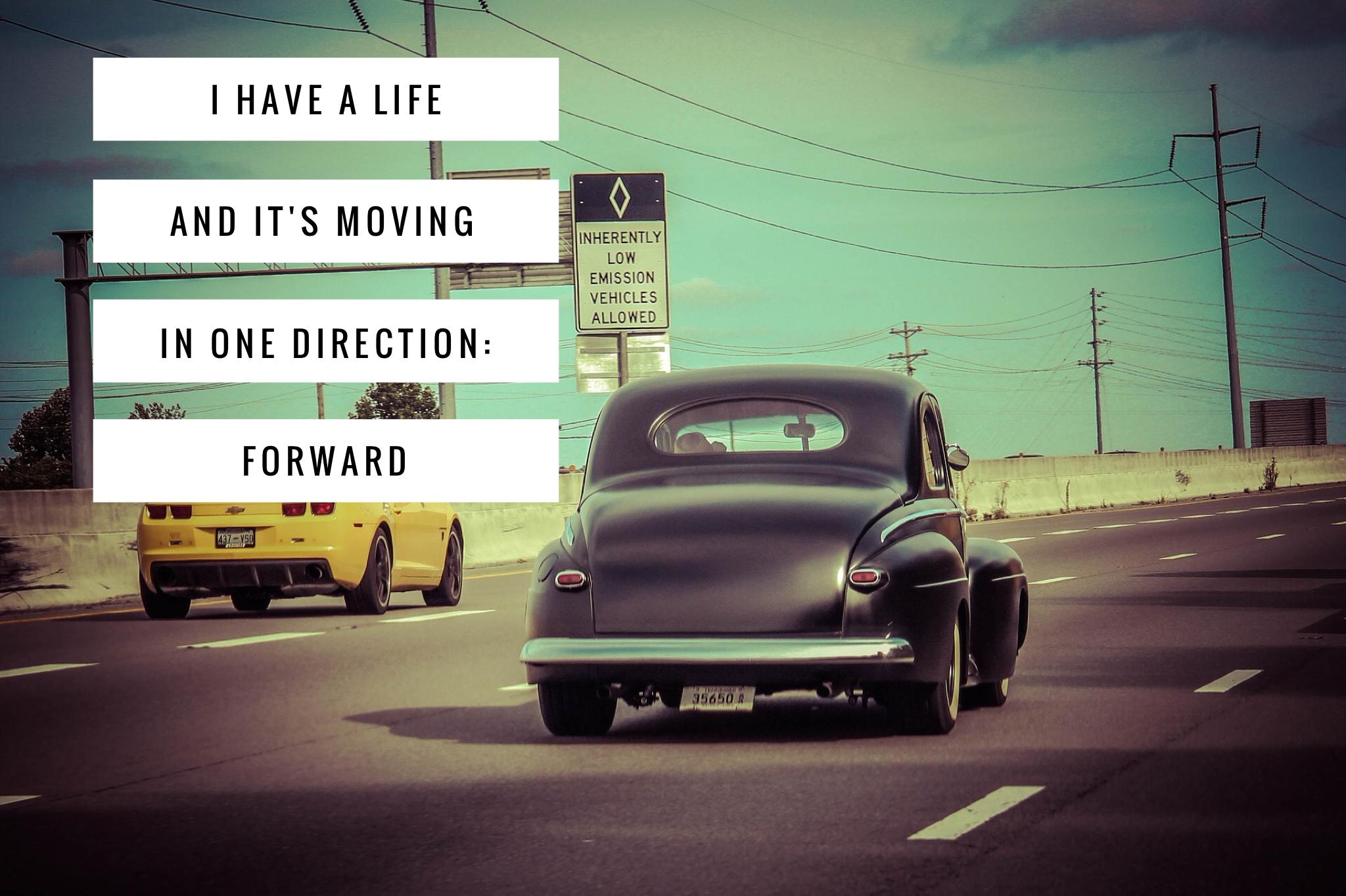 Moving forward quote Don Draper Mad Men