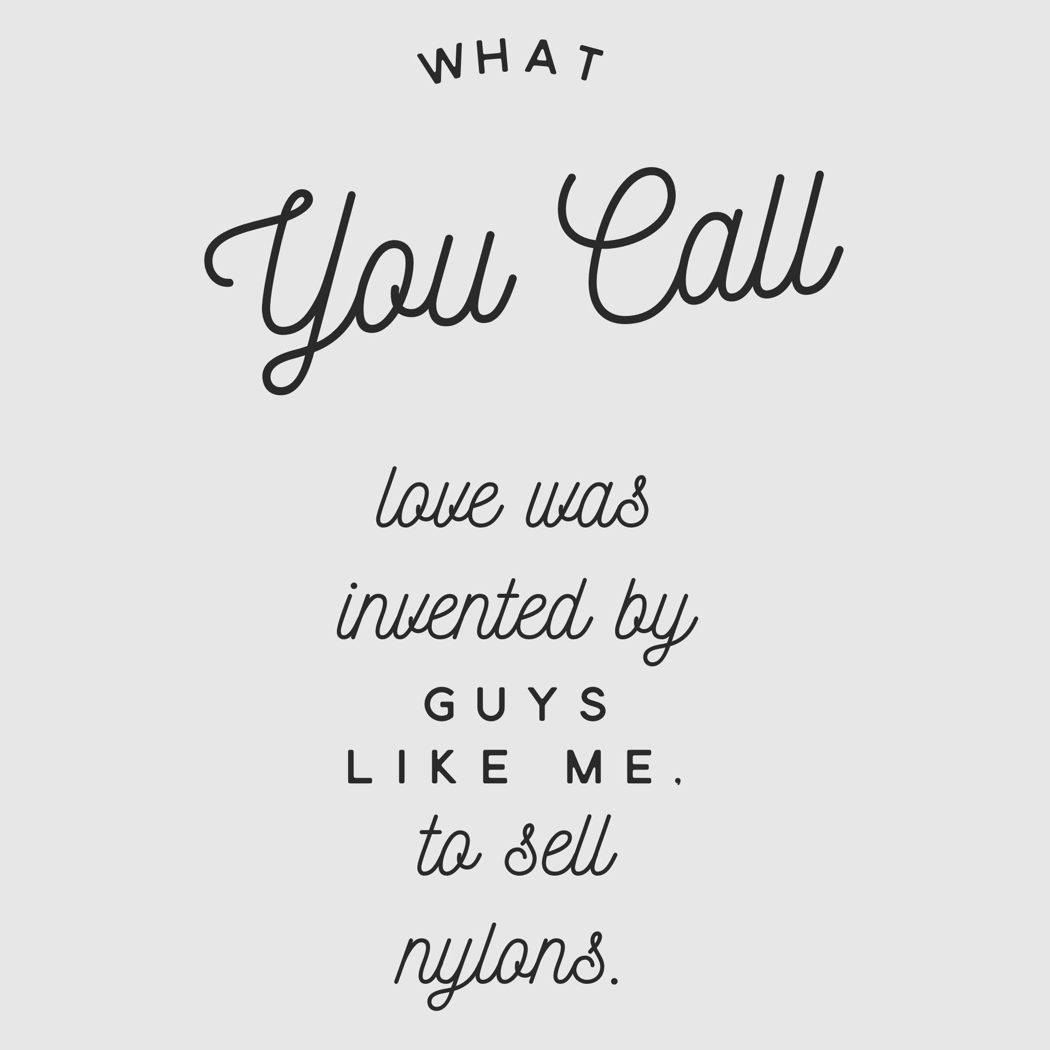 love nylons quote Don Draper_Mad Men