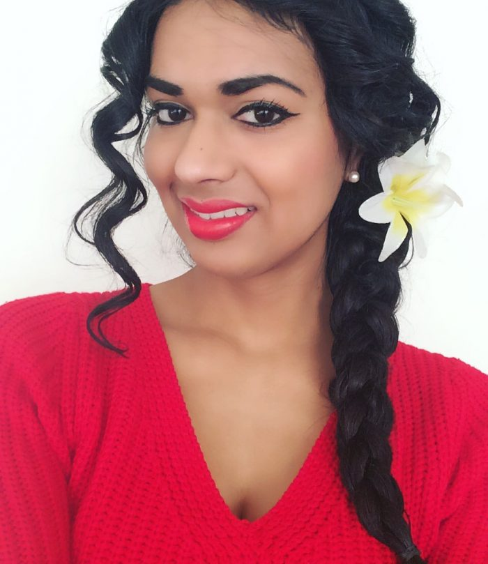 Everyday long hairstyles braid with curled front pieces.