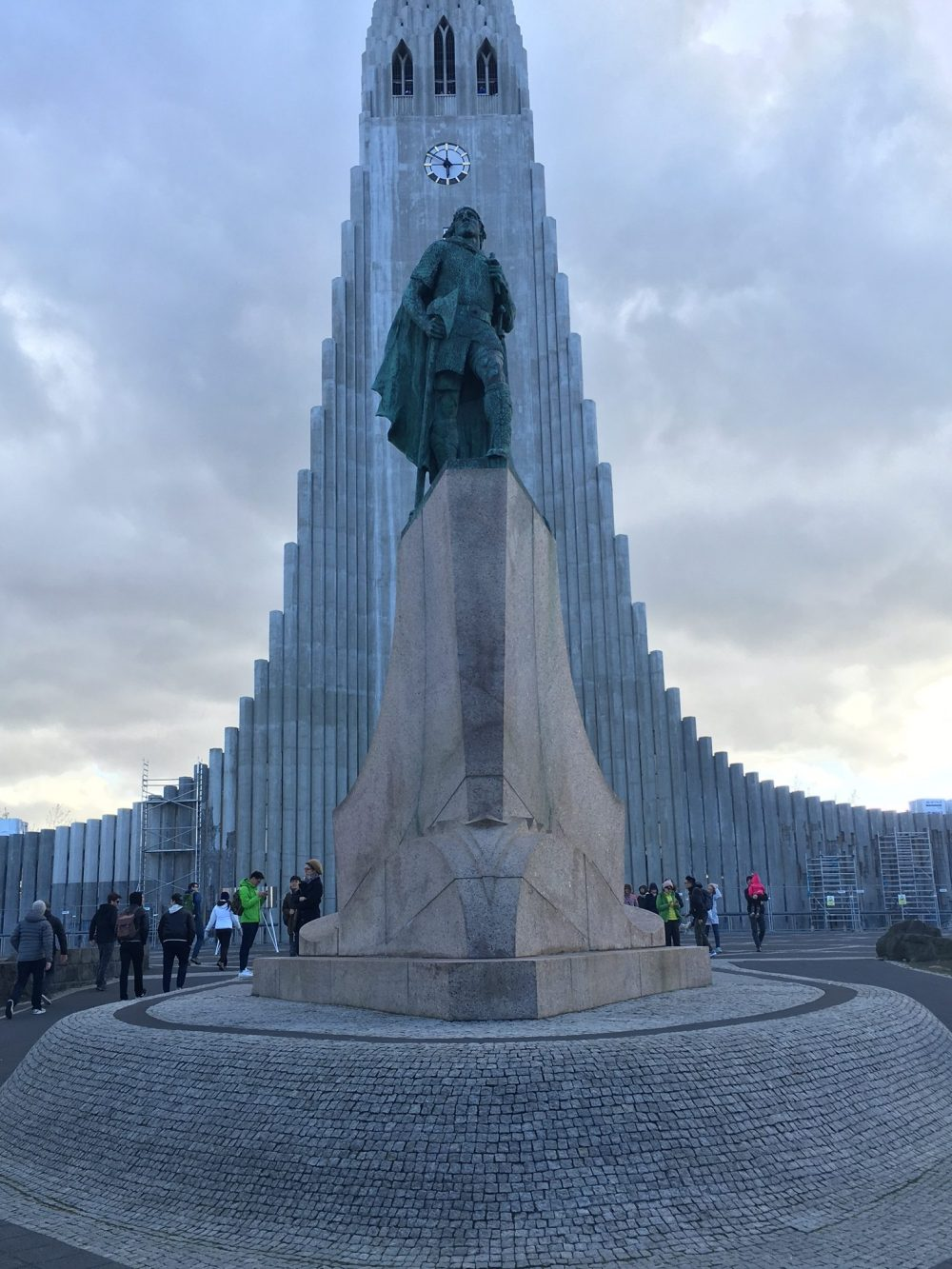Hallgrimskirkja the most famous church in Reykjavik Iceland trip