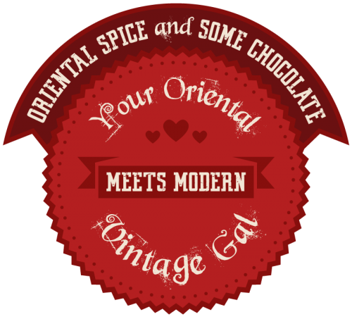 oriental spice and some chocolate modern vintage blogger