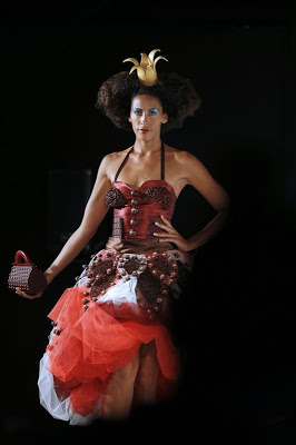 Models chocolate fashion