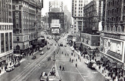 Times Square New York 1920s-1930s