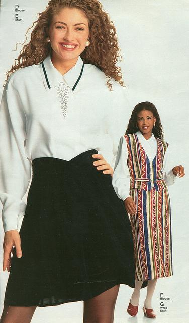 short skirt fashion 90s