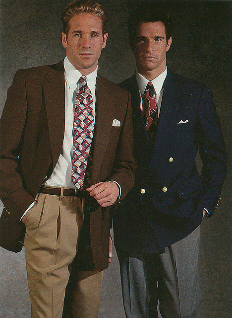 Men fashion early 90s