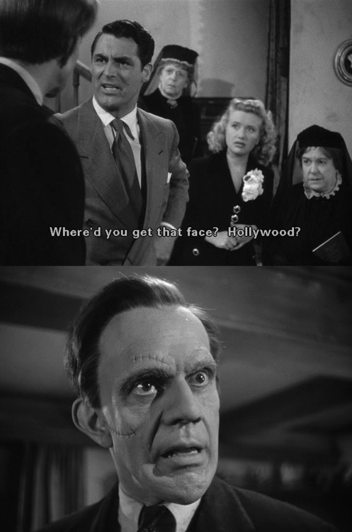 Arsenic and Old Lace  Frank Capra  1944.