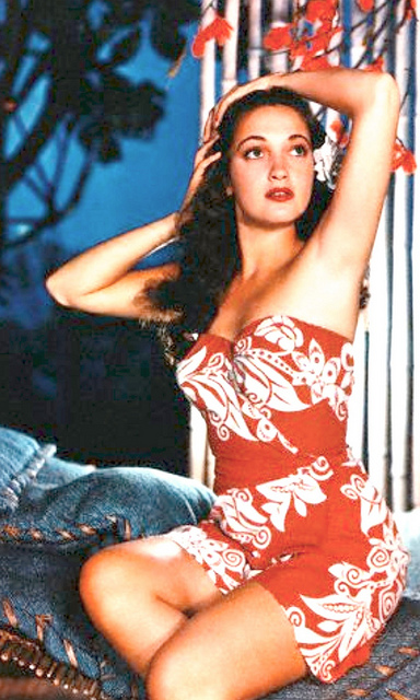 Dorothy Lamour sarong style