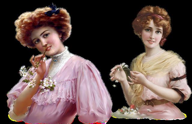 victorian women 1900s