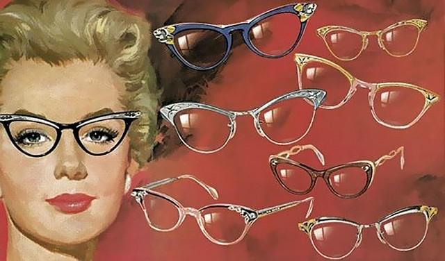 50s eyeglasses style