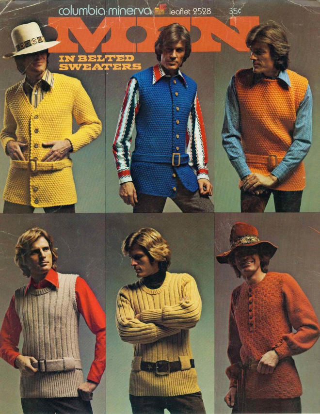 Men's 1970s fashion ads