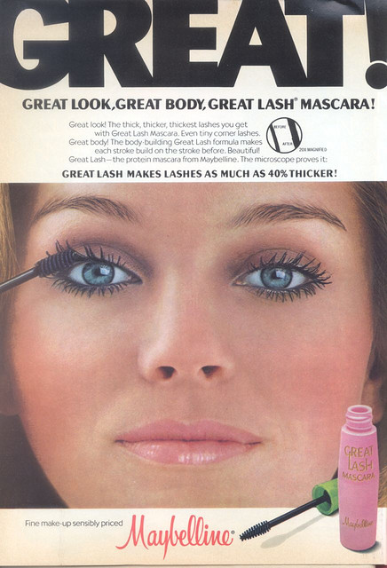 great lash mascara 70s