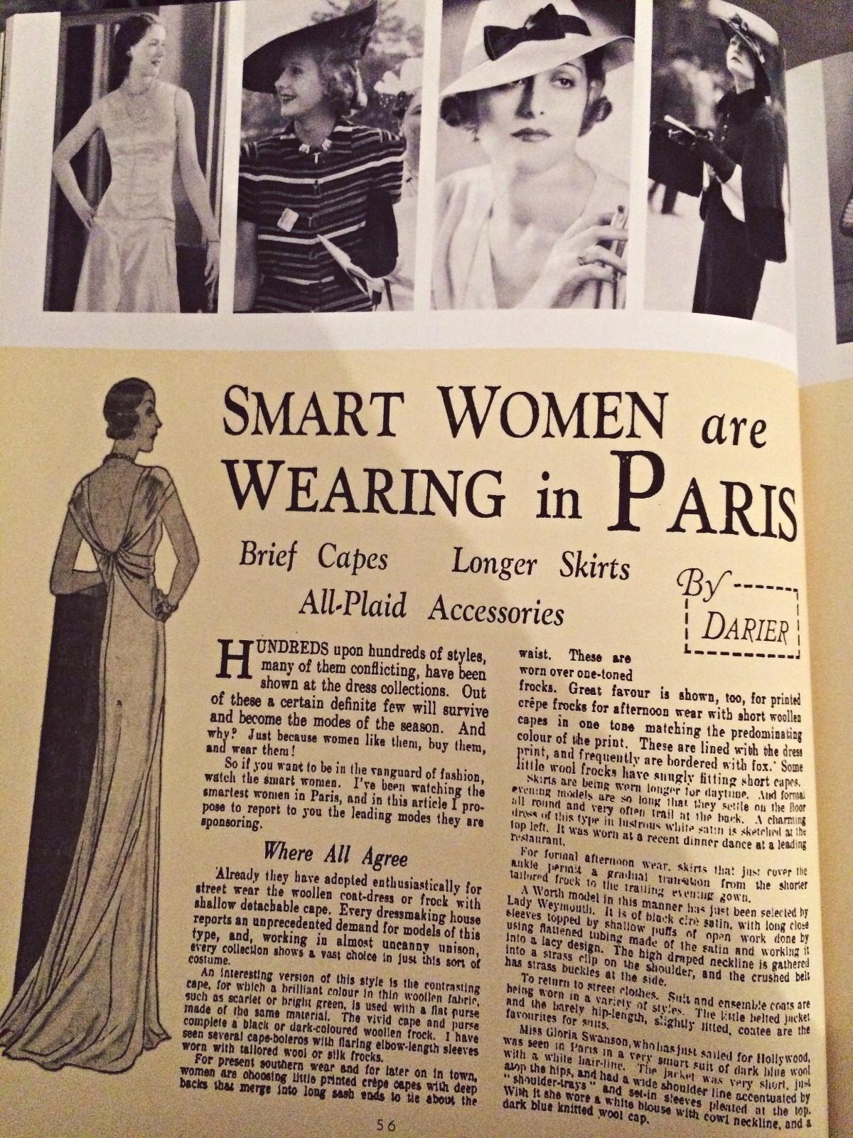 vintage 1930s paris style
