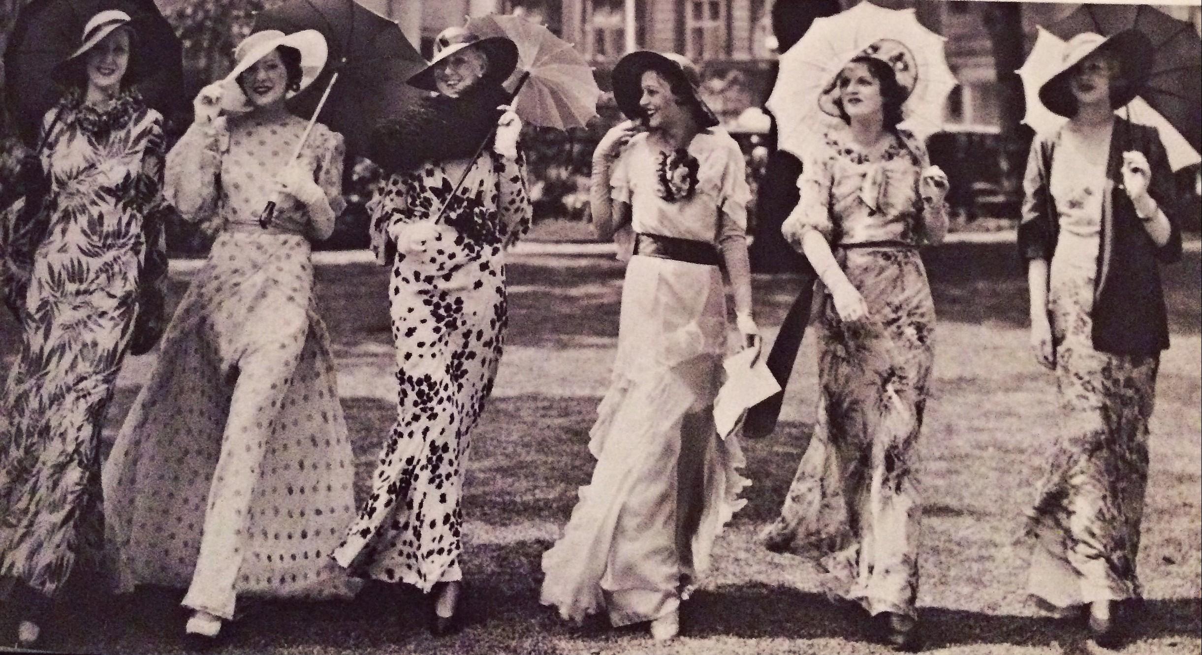 vintage fashion 1930s