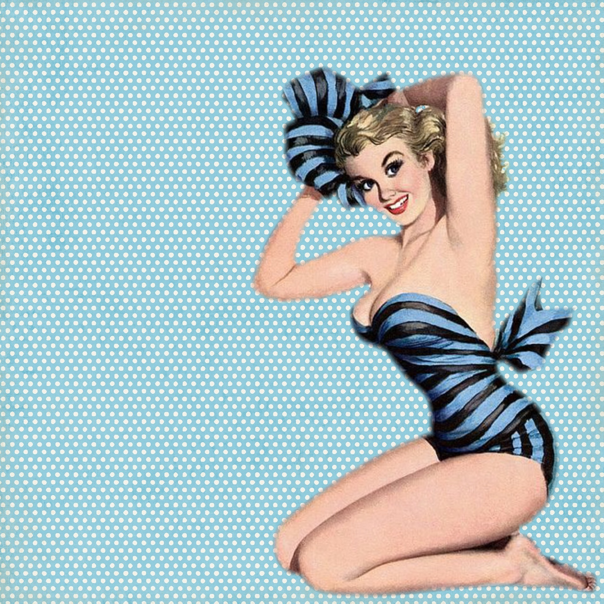 vintage badmode, retro swimwear, pinup swimwear