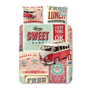 retro duvet cover