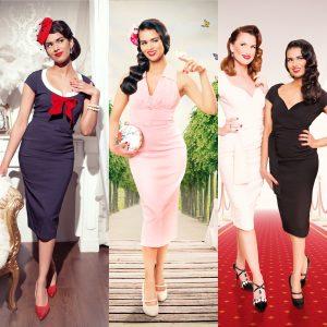 Vintage Diva photoshoot Hamburg end results merged