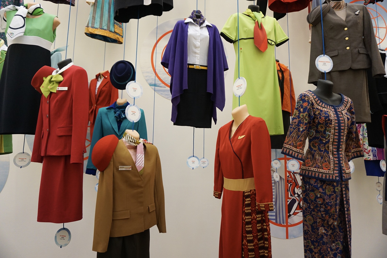 Cabin Crew Fashion in the air exhibition 3