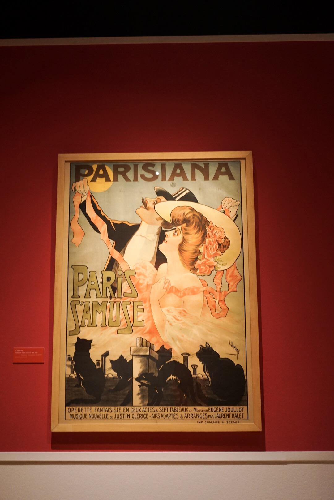 Kattenliefde exhibition Parisiana vintage