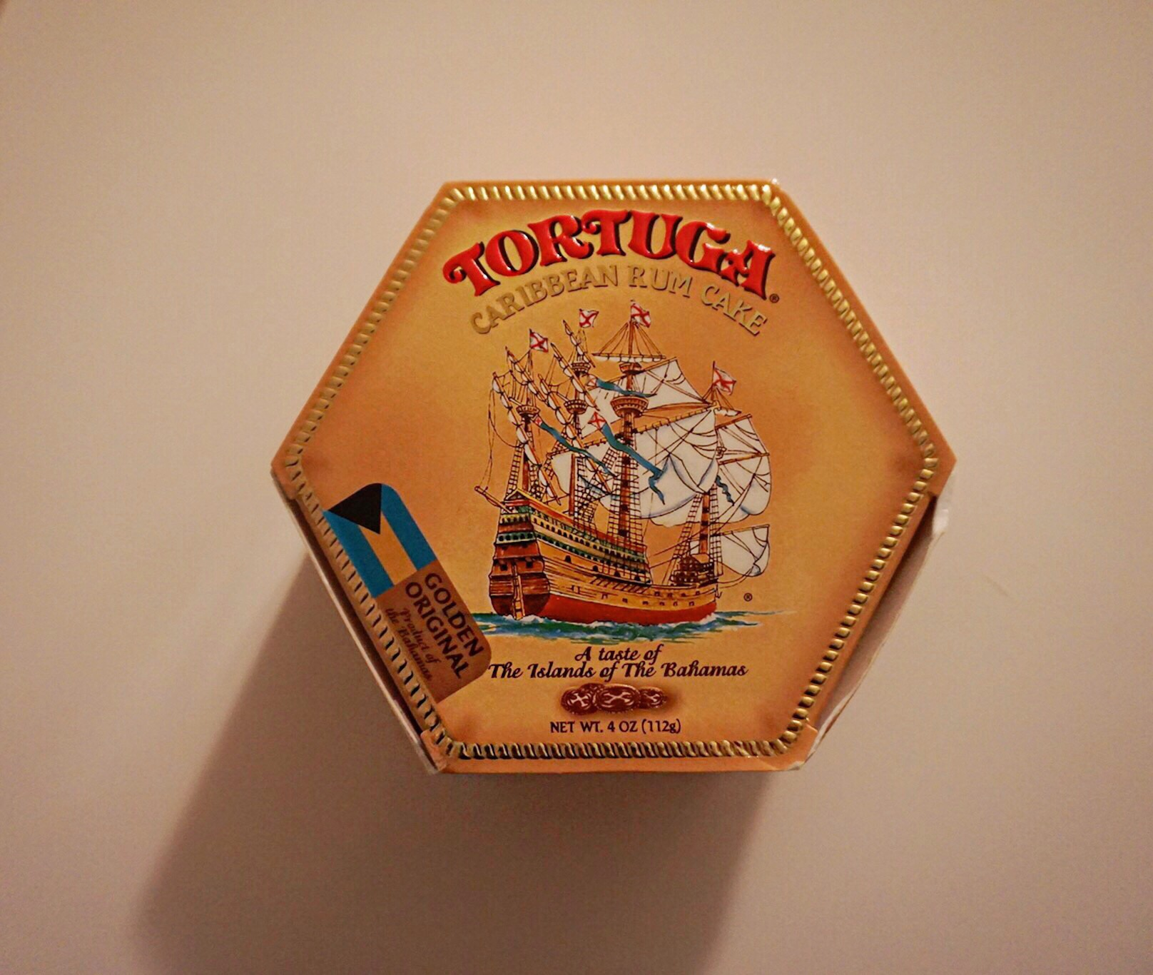 Tortuga rum cake from the Bahamas