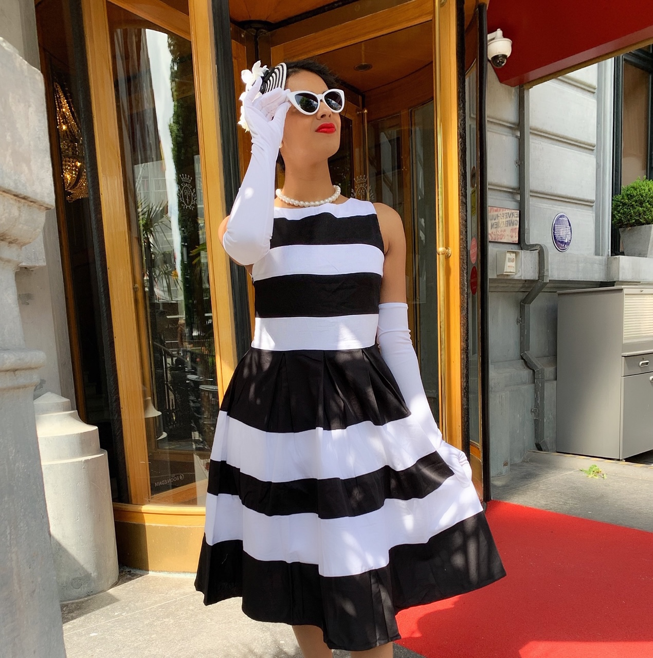 Dolly and Dotty dress_Hotel des Indes The Hague