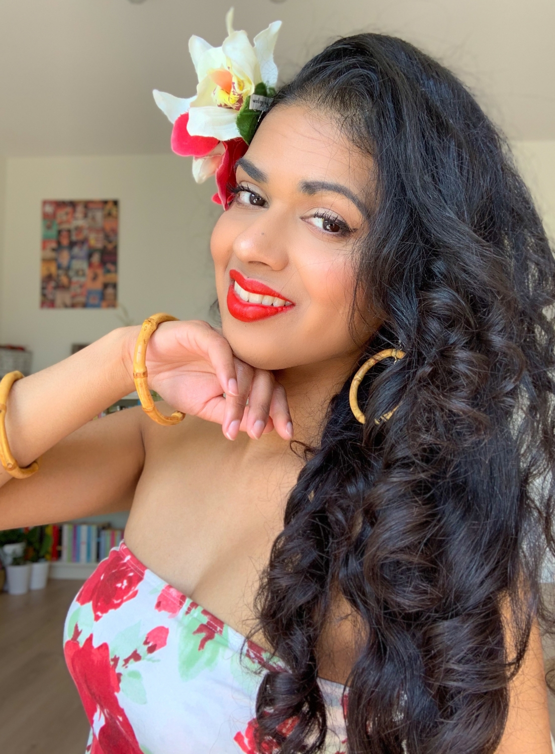Headband curls day 2 - Tropical loose waves