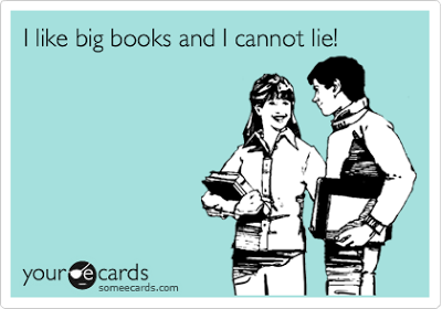 I like big books and I can not lie ecard