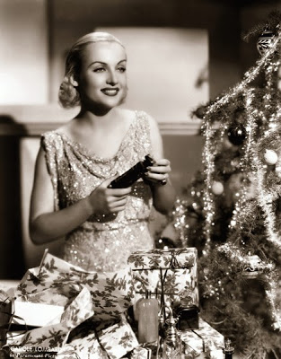 Christmas with Carole Lombard