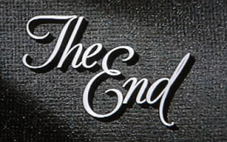 The End classic movie end