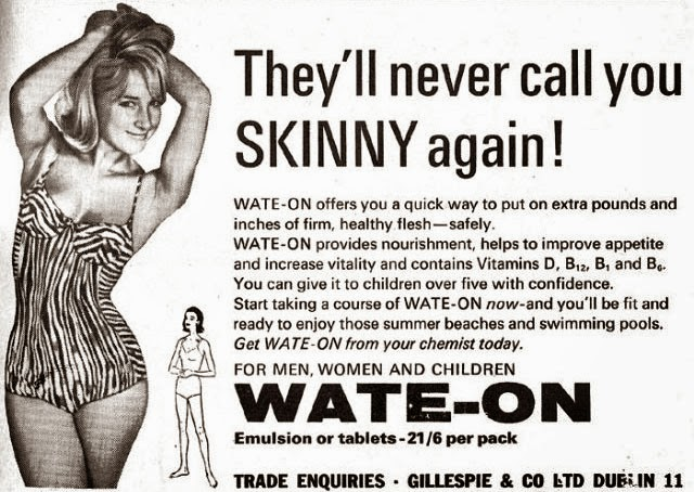 vintage gain weight ads