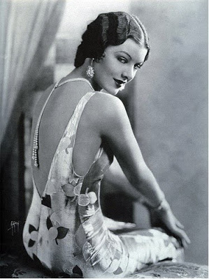 Retro vintage fashion 1930s